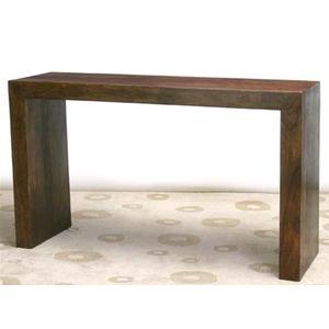 consolle in legno massello di acacia consolle e mobili