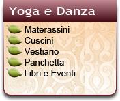 Yoga e Danza, Cuscini e Materassini