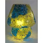 Handmade mosaic Glass Table Lamp