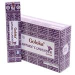 Incenso Nature's Lavander Goloka 15 gr.
