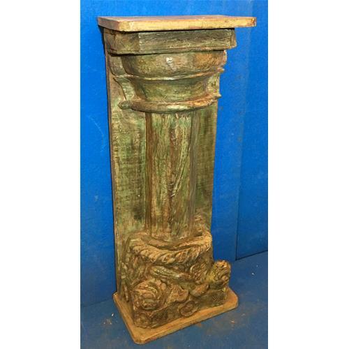 Colonna originale in legno massello di teak - Colonne e Colonnati ...