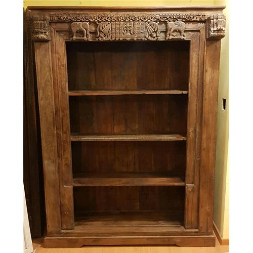 Libreria originale in legno massello di teak - Librerie # India ...