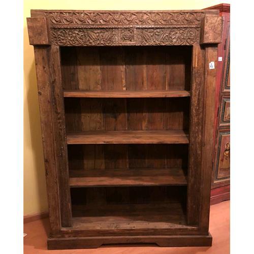 Libreria originale in legno massello di teak - Bookcases # India ...