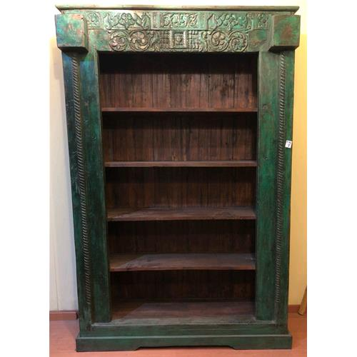 Libreria originale in legno massello di teak - Bookcases # India ...