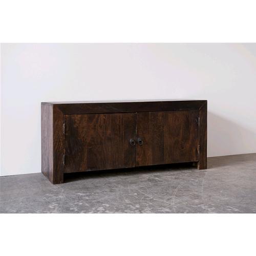Credenza / Porta Tv in legno massello acacia scuro