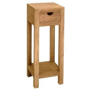 Comodino sheesham in legno massello di palissandro h. 75 cm ...
