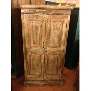 Armadio originale in legno massello di teak - Armadi # India World Store