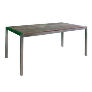 Tavolo da pranzo steel in legno massello di palissandro for Tavolo da pranzo legno e acciaio