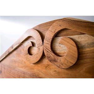 Testata per Letto in legno massello di acacia - Letti e Testate ...