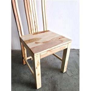 Sedia moderna in legno massello di palissandro sbiancato - Sedie e ...