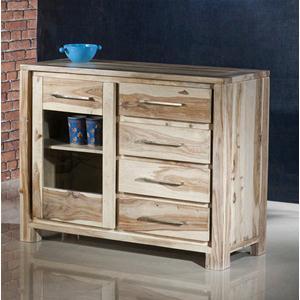 Credenza in legno massello di palissandro sbiancato - Dressers ...