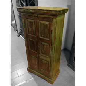 Armadio originale in legno massello di teak - Cabinets # India World ...